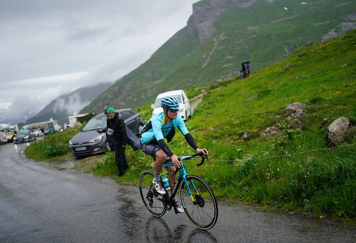 Jakob Fuglsang komt er niet aan te pas in de Tour.