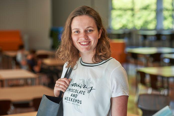 Joan Louakili, eindexamenleerling op het Hooghuis ZuidWest in Oss.