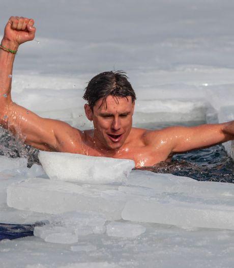 Un Tchèque nage plus de 80 mètres sous la glace pour un record du monde