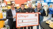 Cheque van 10.000 euro voor Zorgcirkels Jongdementie