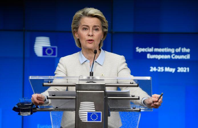 EU-commissievoorzitter Ursula von der Leyen.