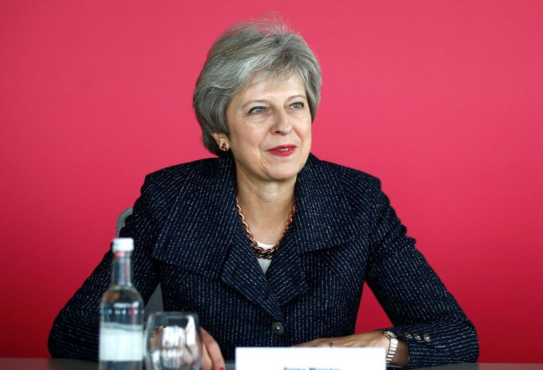 Brits premier Theresa May. Beeld Photo News