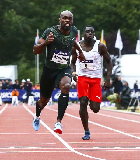 Martina snelt naar zevende titel 100 meter