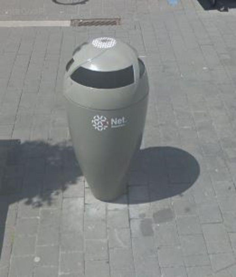 De vertrouwde vuilnisbakken verdwijnen straks uit het straatbeeld.