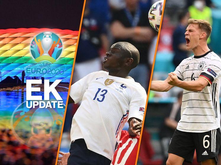 Weer incident bij wedstrijd Duitsland & Kanté vestigt record