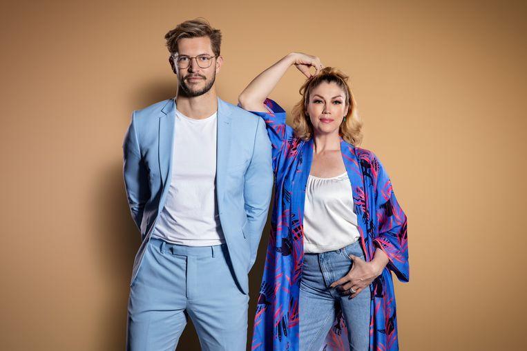 Waar voor je Geld?; Arjen Spittael & Kelly Pfaff Beeld VTM