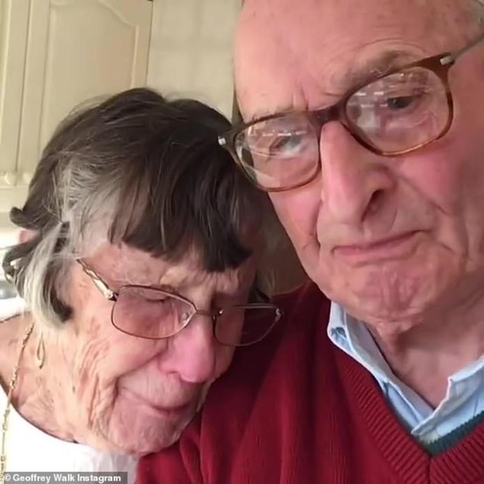 Pauline en Geoffrey Walker.