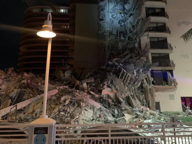 Groot appartementsgebouw deels ingestort in Miami: vrees voor meerdere slachtoffers