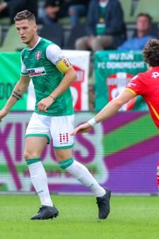 GA Eagles en Dordrecht eindigen na bedroevend duel op 0-0