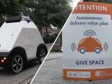 Bezorgrobot getest in Breda: 'Het gaat in een stroomversnelling'
