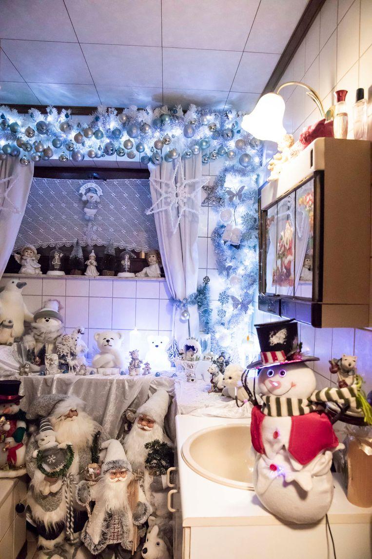 Overal in het huis vind je Kerstmis terug