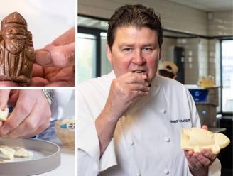 """Topchocolatier Herman Van Dender proeft chocolade Sintfiguren uit de supermarkt: """"Zoveel suiker, daar houden ook kinderen niet van"""""""
