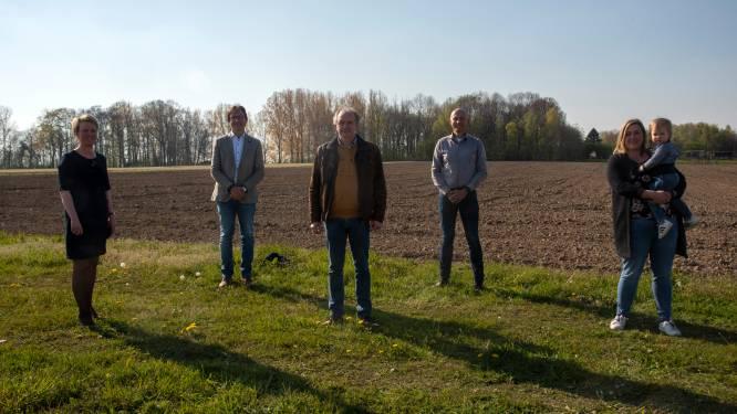 Met de hulp van buurtbewoner Christophe komt er bijna 9 hectare nieuw bos in Balegem