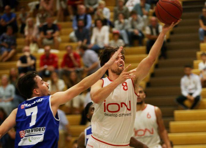 Maxime Verspeeten wil met Basket Waregem heel wat laten zien dit seizoen.
