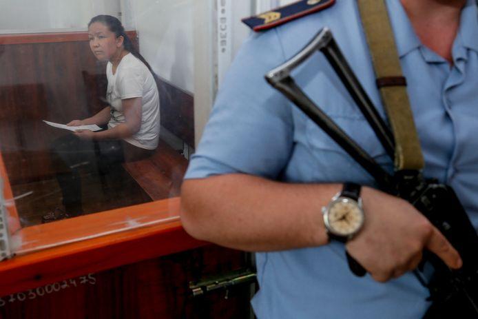 Sayragul Sauytbay werd in 2018 gevangen genomen nadat ze naar Kazachstan probeerde te vluchten.