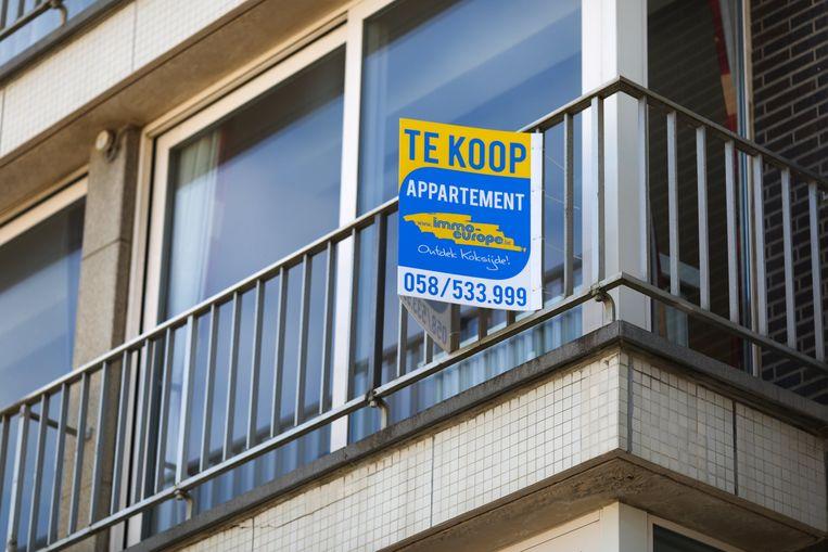 De lage rente biedt gezinnen een uitstekende kans om een eigen appartement te verwerven.  Beeld Photo News