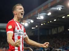 Kopspecialist Luuk de Jong is op jacht naar goal 100 voor PSV