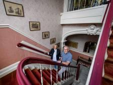 De deftige salon van villa Jordaan in Haaksbergen wordt in ere hersteld