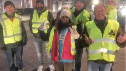 Voor het eerst in Kortrijk: gele hesjes