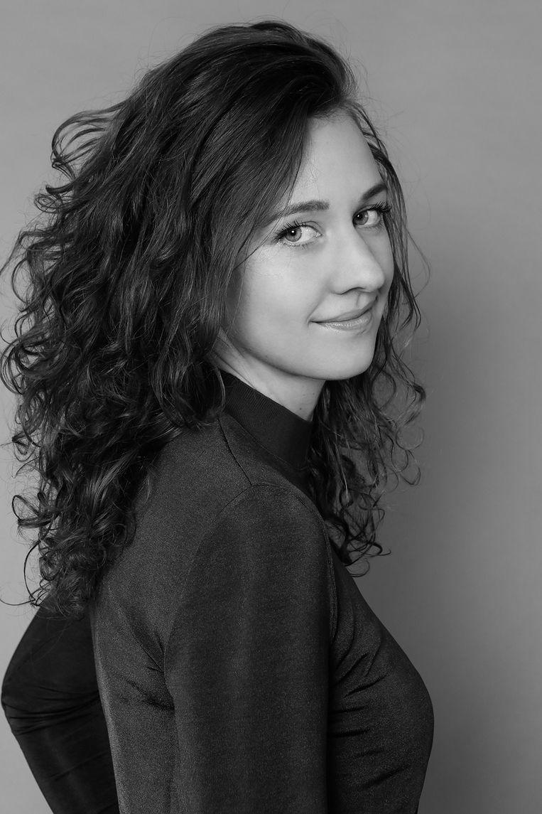 Fenna Plaisier is public affairs manager, werkzaam voor parkeernetwerkbedrijf ParkBee. Beeld