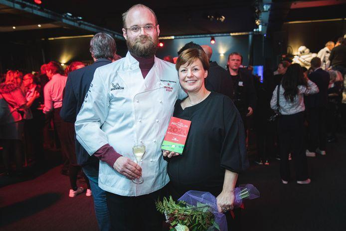 Chef  Vilhjalmur Sigurdarson en zijn vrouw Joke Michiel runnen samen Souvenir