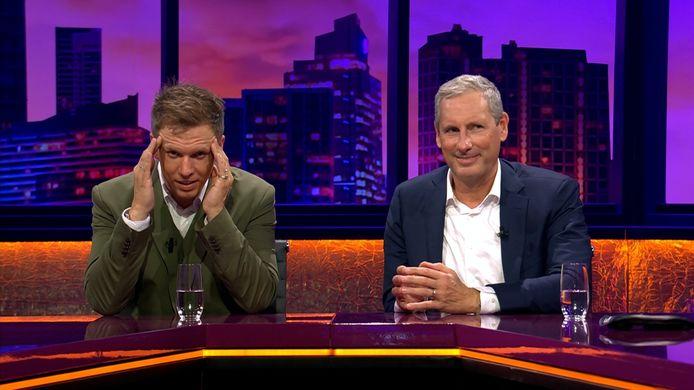 Gert Verhulst en James Cooke in 'De Cooke & Verhulst Show'