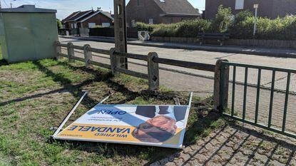 """Vandalen viseren verkiezingsborden: """"Bijna bang om nog campagne te voeren"""""""