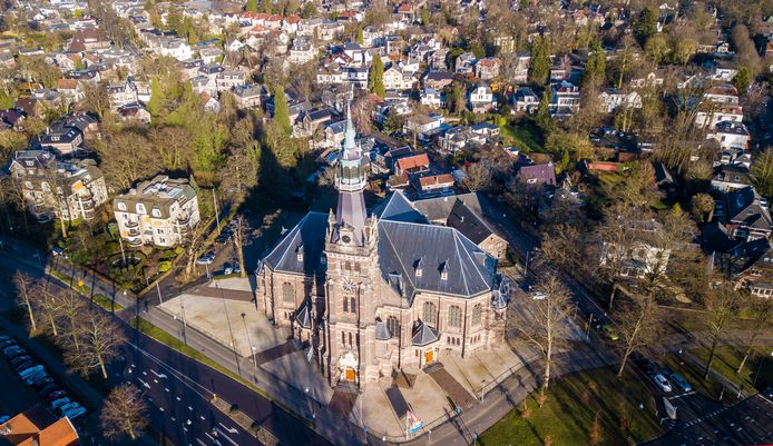 De Grote Kerk in Apeldoorn.