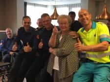 Evacuatie Het Veldhof Enschede goed geregeld, maar eng vond Gé het wel