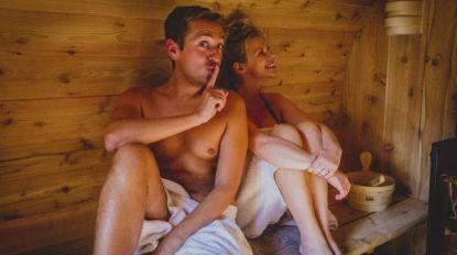 """Sam De Bruyn kruipt stiekem in de sauna met Elke Vanelderen: """"Als de kat van huis is..."""""""
