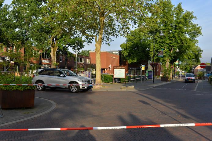 De kruising in Beekbergen werd afgezet voor onderzoek