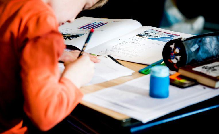 Bij 11 procent van alle leerlingen is een verkeerd advies gegeven.  Beeld ANP