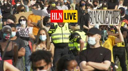 HLN LIVE. Nederlanders komen op straat voor George Floyd en tegen racisme