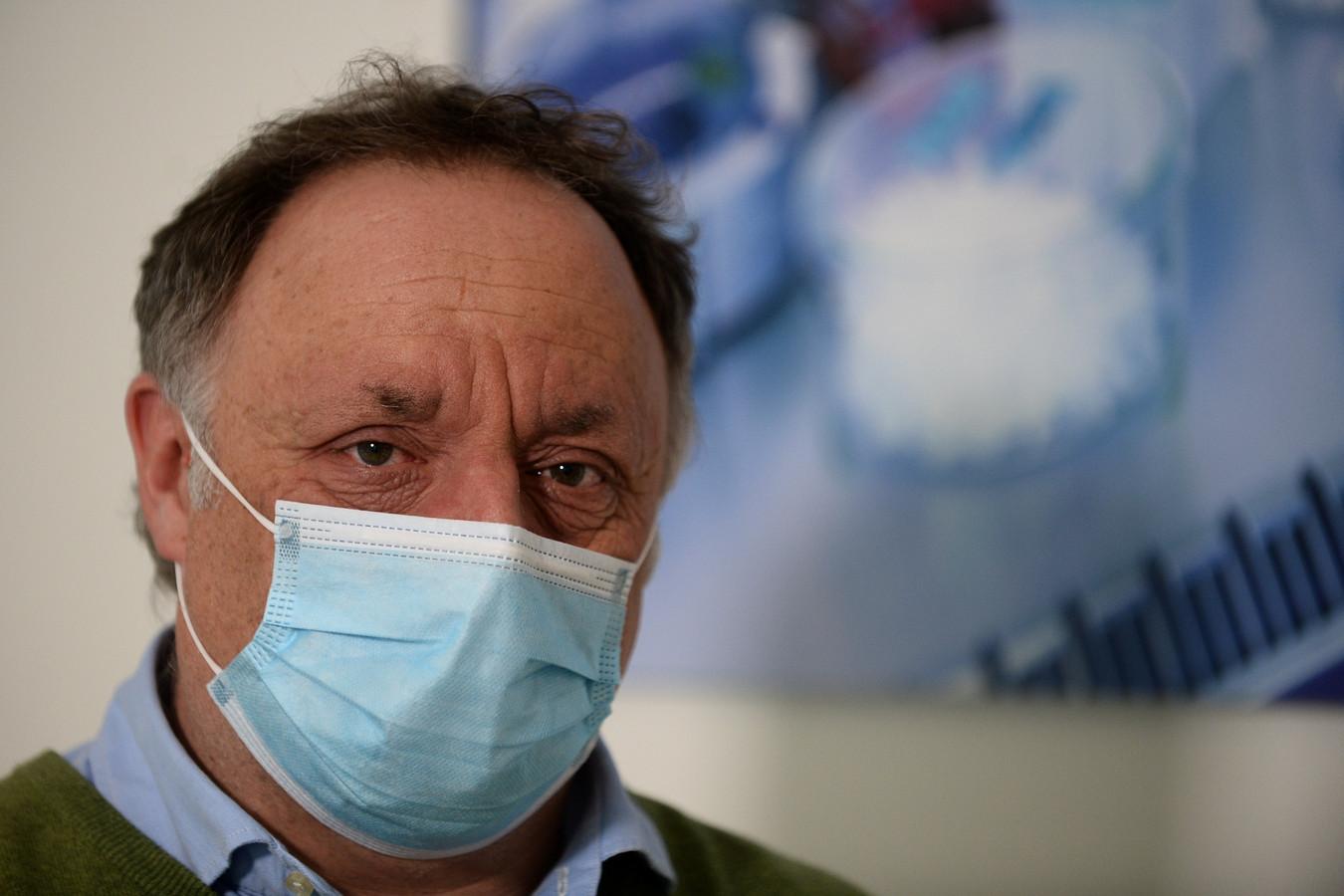 Viroloog Marc Van Ranst.