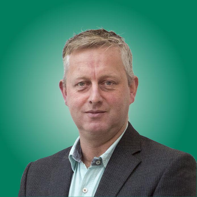 Erik Hoentjen, melkveehouder en voormalig raadslid namens het CDA in Lochem. Hij is uit de partij gestapt omdat hij zich niet kan vinden in de nieuwe landbouwvisie.
