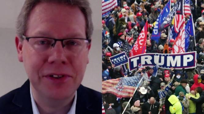 "Amerikakenner David Criekemans: ""Piste om Trump af te zetten wellicht uit de weg"""