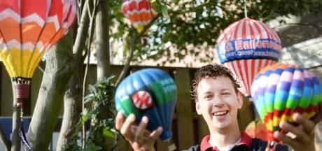 Gertjan Veldman uit Borne spaart alles waar een ballon op staat: 'Nu nog een  brevet'
