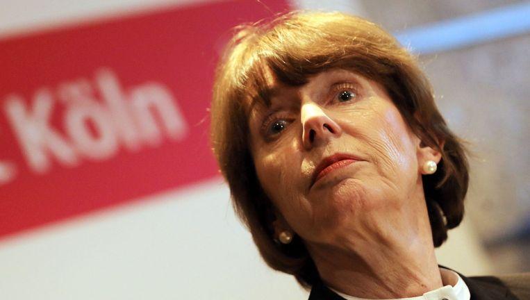 Henriette Reker, de burgemeester van Keulen. Beeld afp