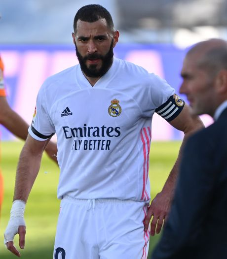 Zidane gaat bij Atalanta geen risico nemen met Benzema