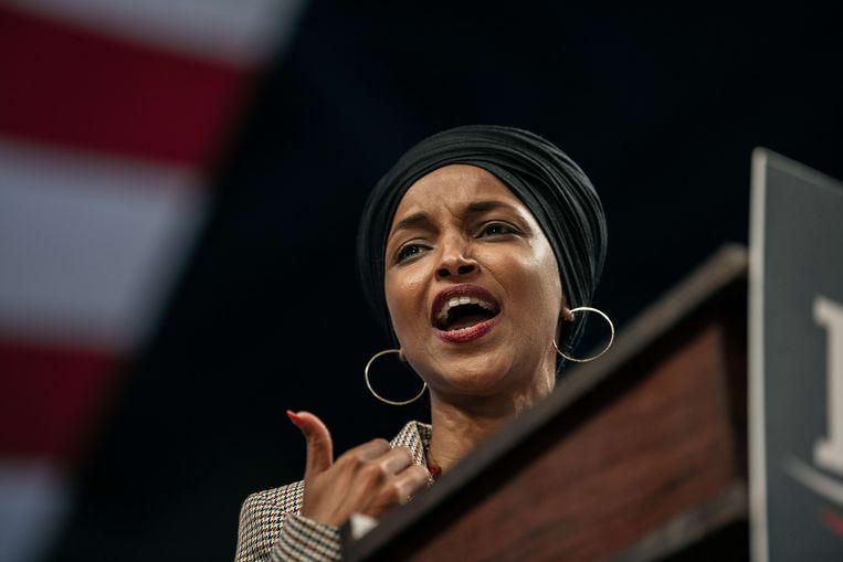 Ilhan Omar krijgt sinds haar verkiezing tot parlementslid wel vaker doodsbedreigingen.