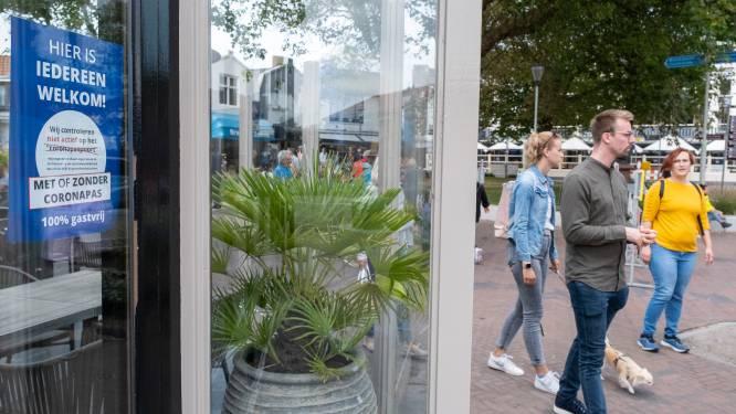 Nog geen boetes voor coronapas in Zeeland: 'Op veel plaatsen is het rustig verlopen'