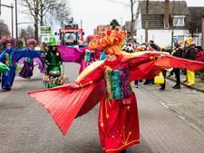 Optocht in Helmond met thema 'Doede gallie mee..?'