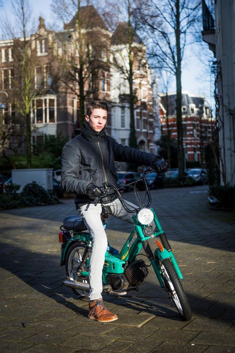 Koen van Assema (17) Beeld Tammy van Nerum