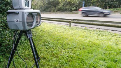 Afgelopen weekend 43 chauffeurs geflitst  op Staatsbaan in Zulte
