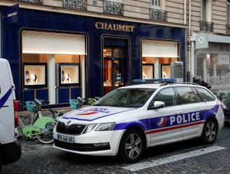 """Twee verdachten overval op juwelierszaak in Parijs opgepakt met """"groot deel van buit"""" op zak"""
