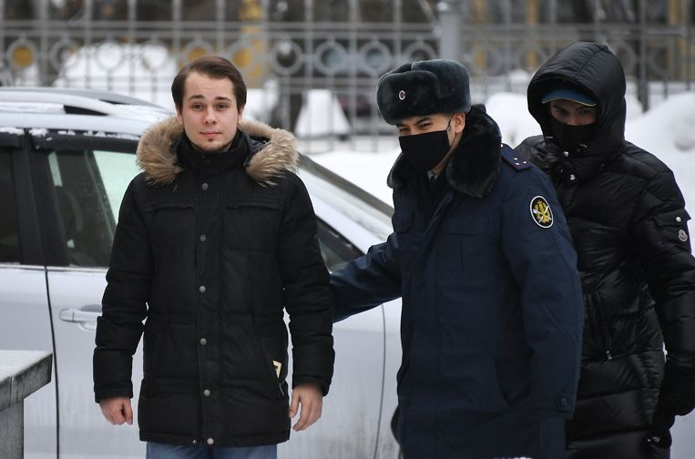 Oppositieleider Aleksej Navalny zal zijn straf uitzitten een van de zevenhonderd Russische strafkolonies.  Beeld Photo News