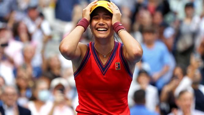 Wat een sprookje! Amper 18-jarige qualifier Emma Raducanu wint US Open na historische tienerfinale