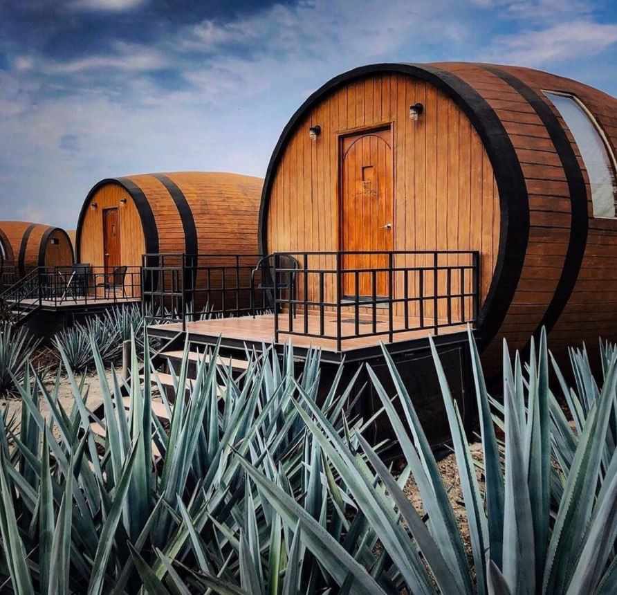 Matices Hotel de Barricas, au Mexique.