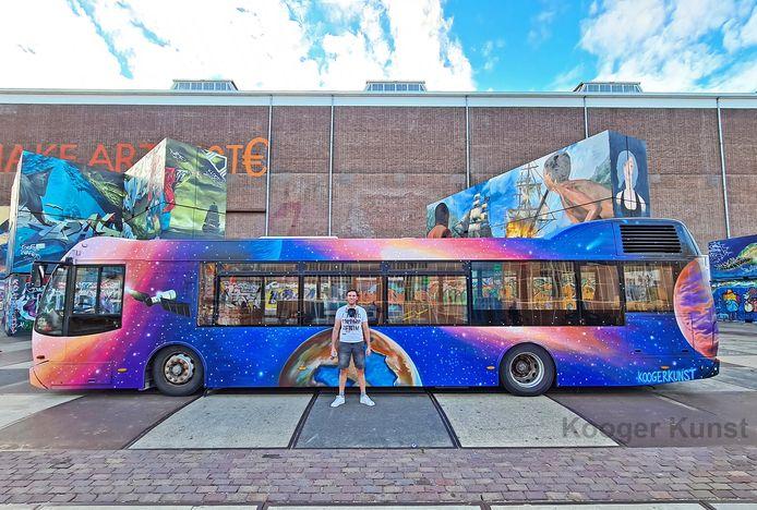 De Galaxy-bus van Ruud Kooger.
