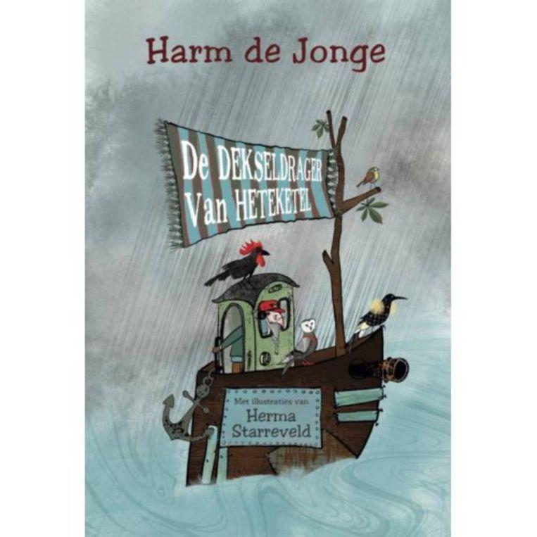Harm de Jonge: De dekseldrager van Heteketel. Hoogland en Van Klaveren; €14,95. Vanaf 9 jaar Beeld
